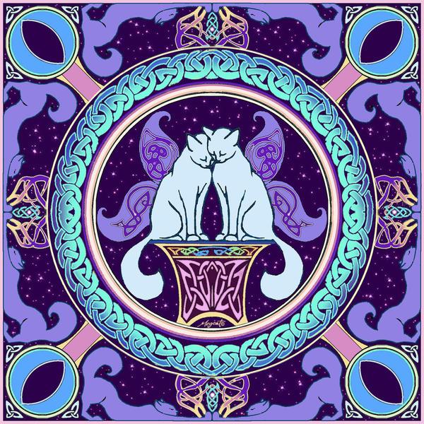 mandala by megcat