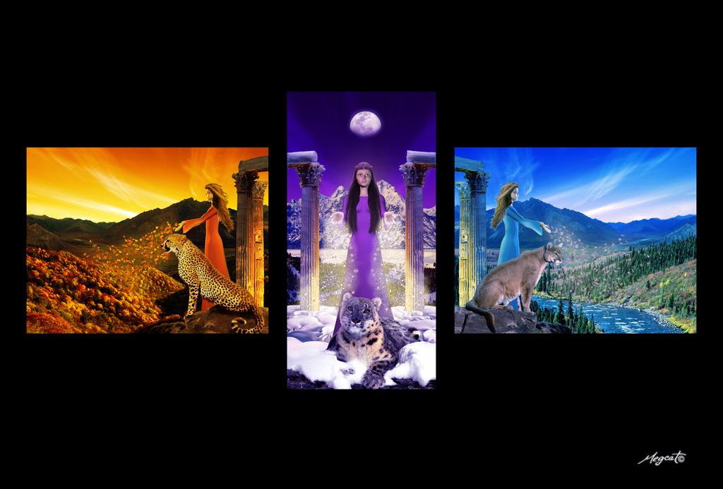 Three Seasons by megcat