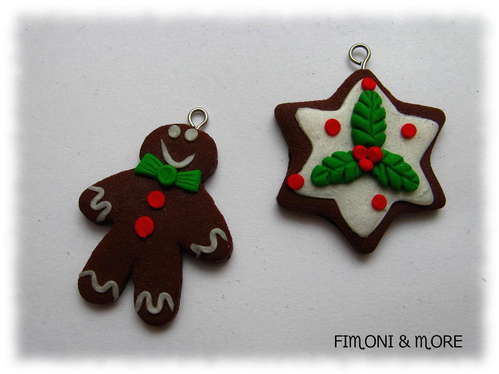 Weihnachtsdeko Xmas.Fimo Weihnachtsdeko Polymerclay Xmas Decoration By Fimoniandmore