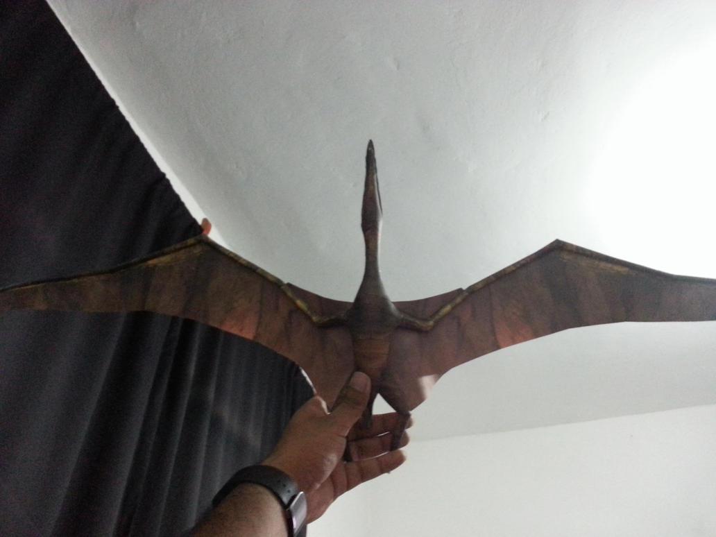 Pteranodon Papercraft 01 by Alejandr0-M