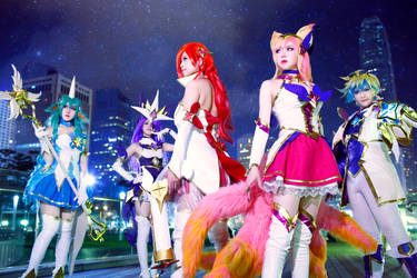League of Legends - Star Guardians by TENinania
