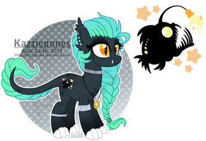 OC Adopt - Obsidian Lights [CLOSED] by Kazziepones