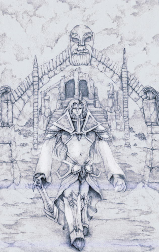 Kuja in Skyrim by Typthis on DeviantArt