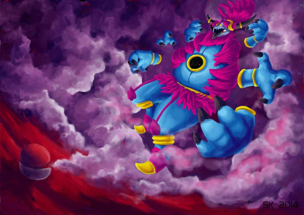 Hoopa Unbound by Typthis