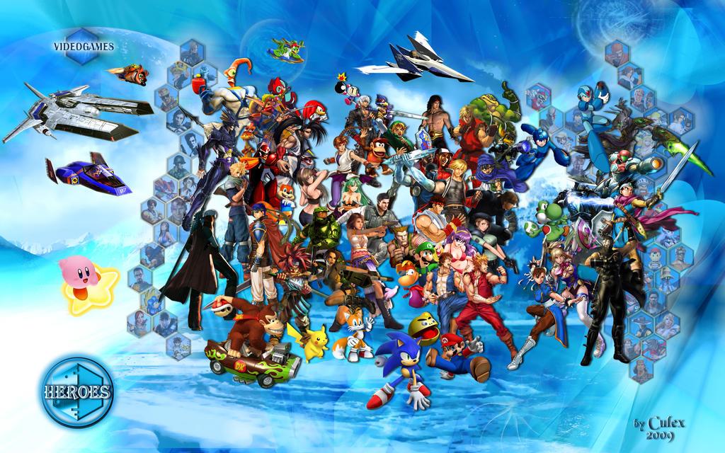 Heroes - VIDEOGAMES