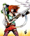 Super Cyber Redhead
