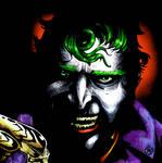 Joker's smile's just skin deep