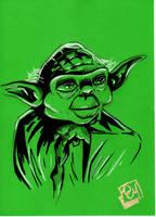 Fan Days 2011 Yoda by Barnlord