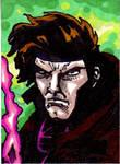 Gambit Sketch Card no1