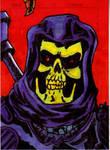 Skeletor Sketch Card no1