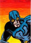 Blue Beetle Sketch Card no1