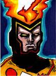 Firestorm Sketch Card no1