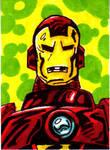 Ironman Sketch Card no1