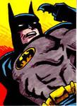 Batman Sketch Card no1