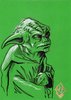 Sci Fi Expo Yoda