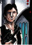 Han Solo Sketch Card no1