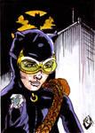 Catwoman Sketch Card no1