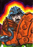 MOTU Man at Arms Sketch Card no1