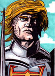 MOTU Battle Armor He-Man Sketch Card no1