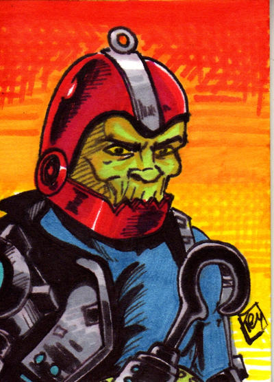 MOTU Trapjaw Sketch Card no1