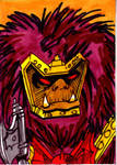 MOTU Grizzlor Sketch Card no1