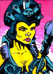 MOTU Evil Lyn Sketch Card no1