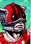 MOTU Zodac Sketch Card no1