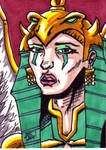 MOTU The Sorceress Sketch Card no1