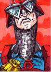 MOTU Mekaneck Sketch Card no1