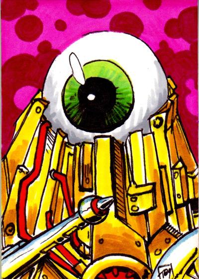 MOTU Optikk Sketch Card no1