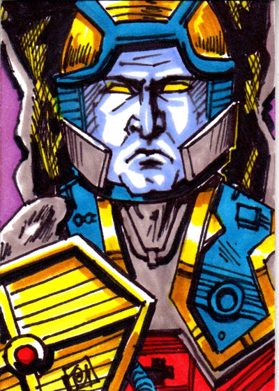 MOTU Stondar Sketch Card no 1