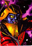 MOTU Flogg Sketch Card no 1