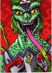 MOTU Snake Face Sketch Card no 1