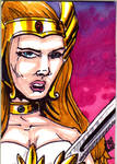 MOTU She-Ra Sketch Card no 1
