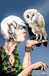 Pinup Rachel the Owl Girl