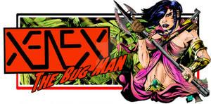 Xenex the Bug Man Website Banner