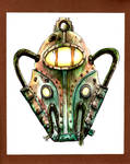 Bioshock Big Daddy Helm