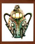 Bioshock Big Daddy Helm