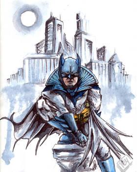 Damian version Future Batman
