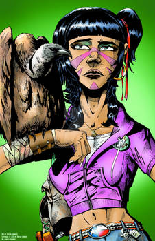 Pinup Bethany the Vulture Girl