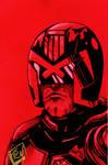 Dredd Pre Fan Days 2012 Pin up