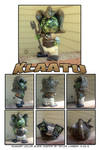 Klaatu Custom DIY toy