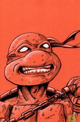 Michelangelo TMNT pre Fan Days Con 2012