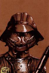 Lando Skiff Guard pre Fan Days con 2012 pin up