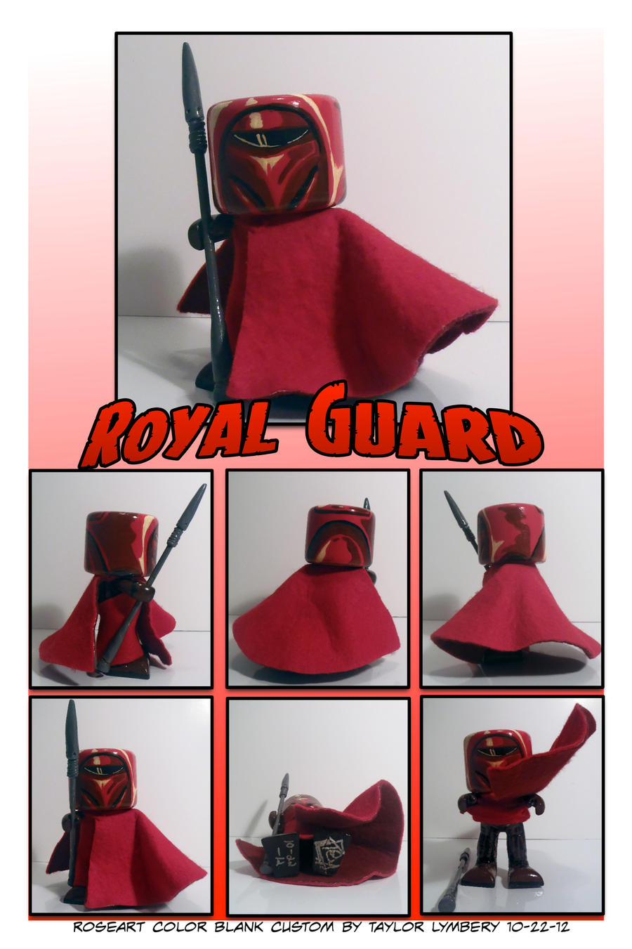 Royal Guard 1 Custom Toy