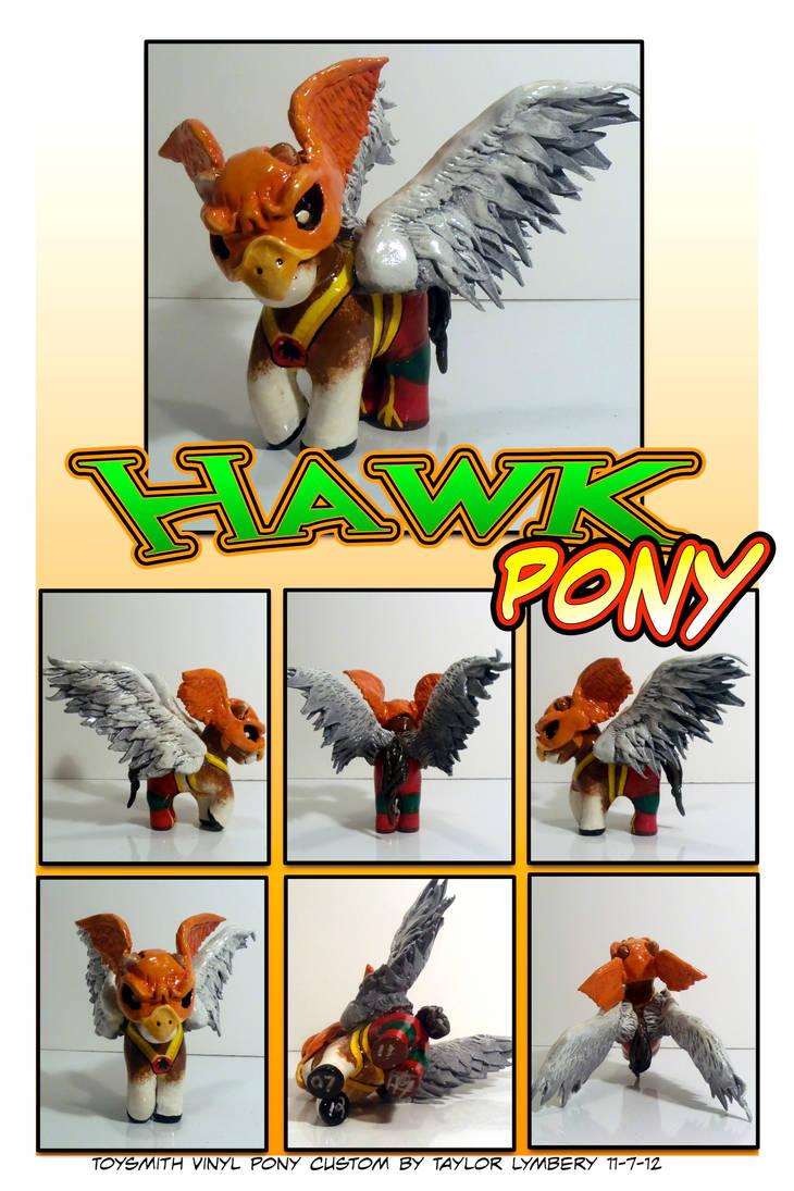 Hawkpony Custom DIY Toy by Barnlord