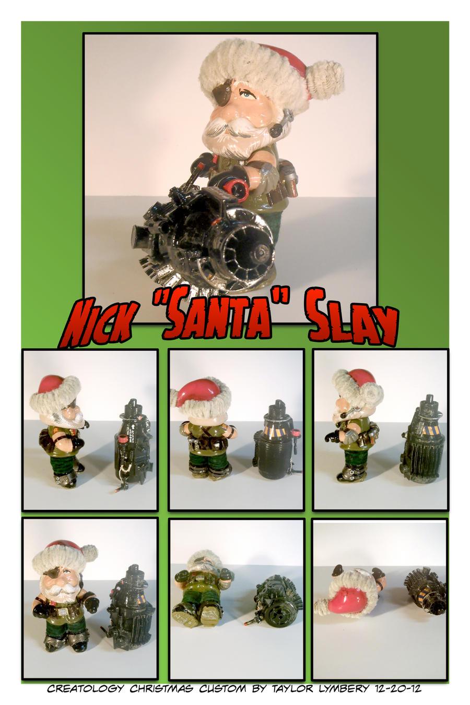 Nick Santa Slay Custom DIY Toy