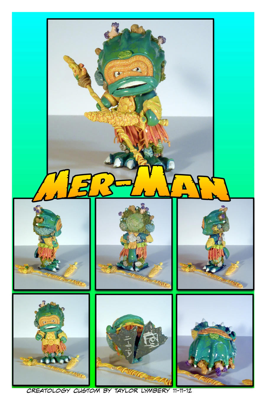 Mer-Man Custom DIY Toy