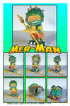 Mer-Man Custom DIY Toy