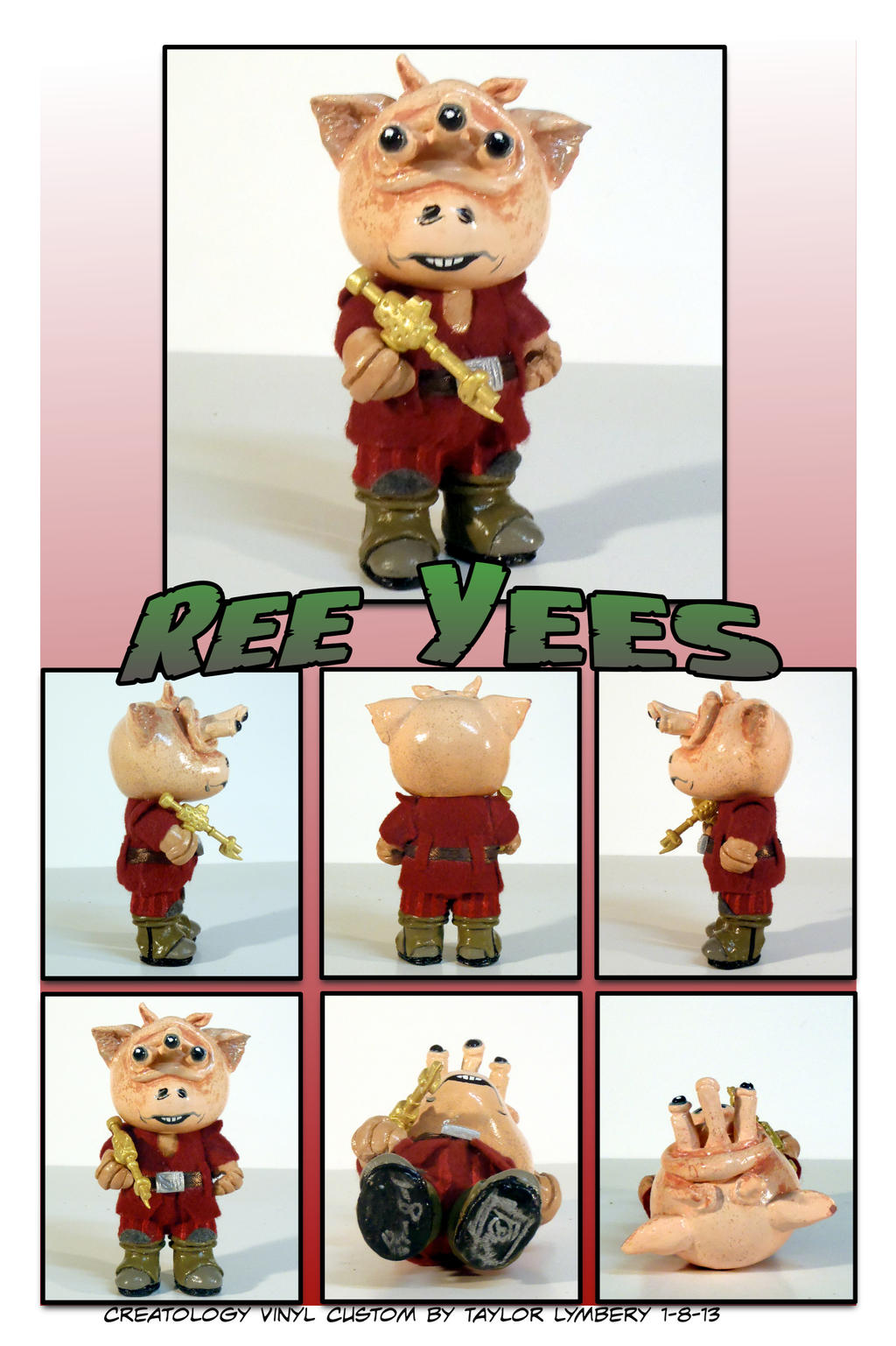 Ree Yees Custom Toy